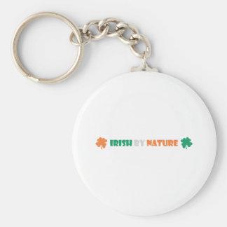 irish by nature key chains