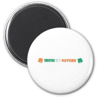 irish by nature refrigerator magnet