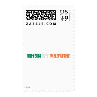 irish by nature stamp