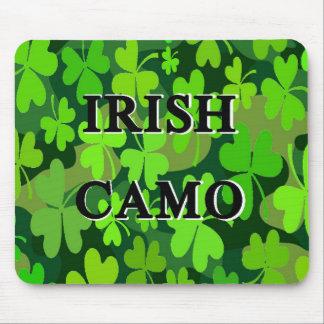 Irish Camo Mouse Pad