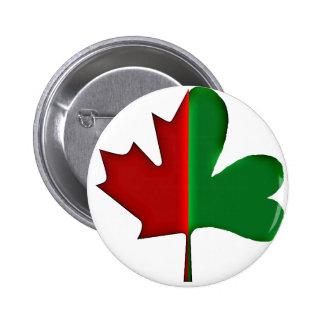 Irish Canadian Button