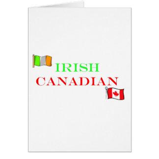 irish Canadian Card