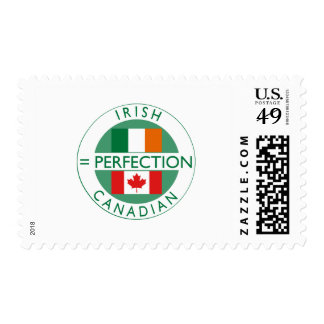 Irish Canadian Heritage Flags Stamps