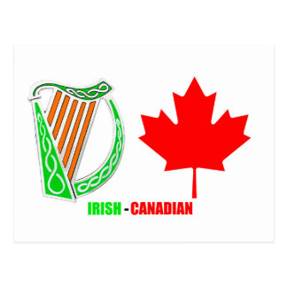 Irish-Canadian image for postcard