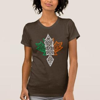 Irish Canadian Maple Leaf Tee Shirt