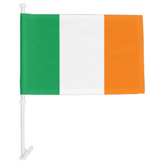 Irish car window flag for St Patricks Day