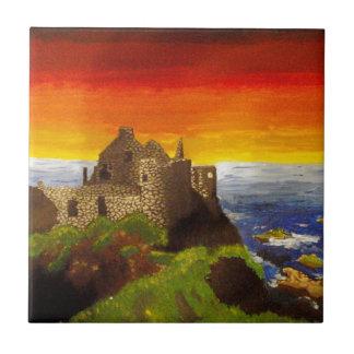 Irish Castle Ceramic Tile