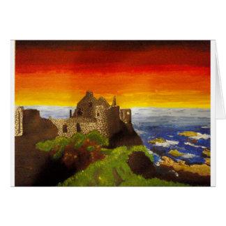 Irish Castle Greeting Card