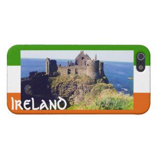 Irish Castle, Ireland+Irish Flag Case For iPhone 5