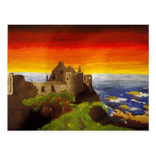 Irish Castle Postcard