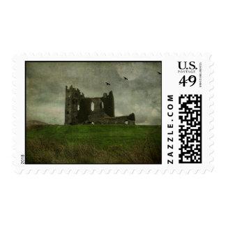Irish Castle Ruins Postage