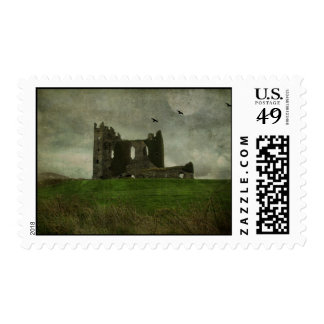 Irish Castle Ruins Stamp