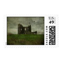 Irish Castle Ruins Postage Stamp