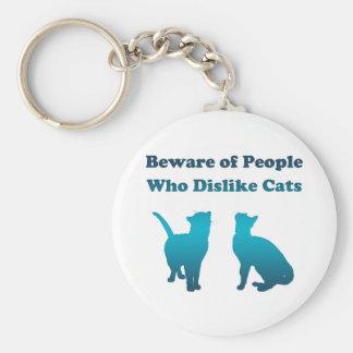 Irish Cat Proverb Basic Round Button Keychain