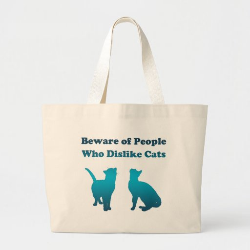 Irish Cat Proverb Tote Bags