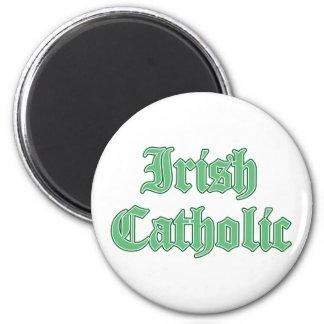 Irish Catholic 2 Inch Round Magnet