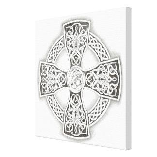 Irish Celtic Cross Canvas Prints