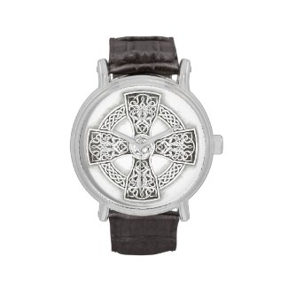 Irish Celtic Cross Vintage Wristwatches