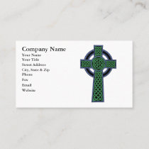 Irish Celtic Knot Cross