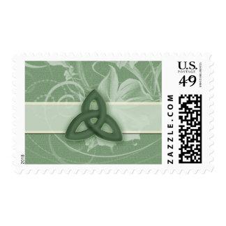 Irish Celtic Knot Postage stamp
