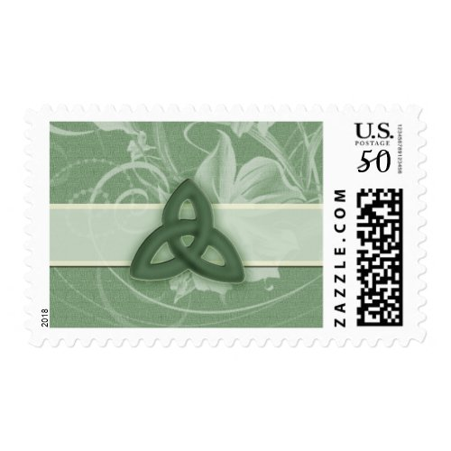 Irish Celtic Knot Postage stamp