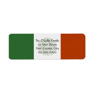 Irish Celtic Knot Return Address Label