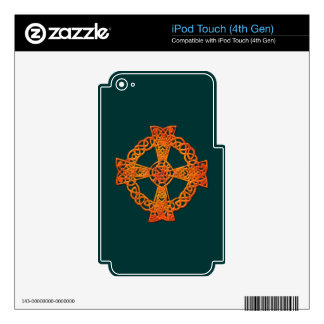 Irish Celtic Knots & Crosses Device Decals Decal For iPod Touch 4G
