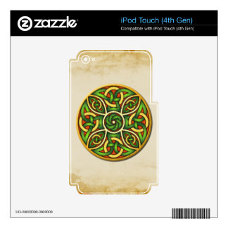 Irish Celtic Knots & Crosses Device Decals iPod Touch 4G Skins