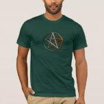 Irish Celtic Pagan Magick Pentacle Men's T-Shirt