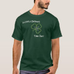 Irish Celtic Shamrock Knot Gaelic T-Shirt