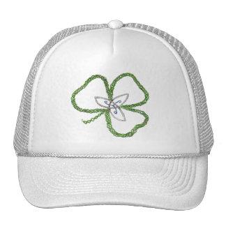 Irish Celtic Shamrock Knot Trucker Hat
