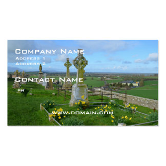 Irish Cemetery Double-Sided Standard Business Cards (Pack Of 100)