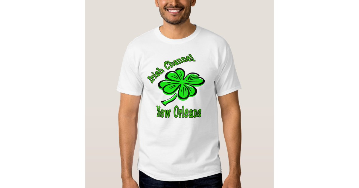 Irish channel new orleans shirt zazzle for T shirt printing new orleans