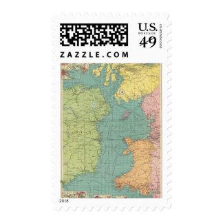 Irish Channel Postage Stamp