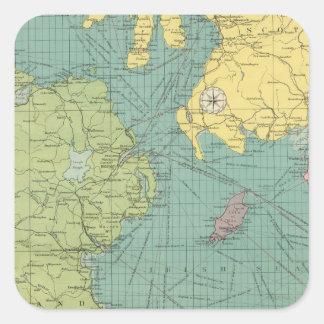Irish Channel Square Sticker