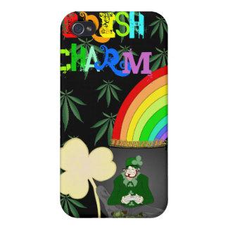 Irish Charm I-pod 4 case skin, by P.O.S.H.Inks