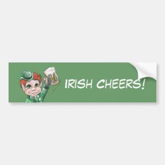 Irish Cheers! Bumper Sticker