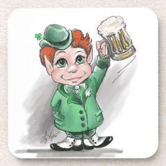 Irish Cheers! Cork Coaster