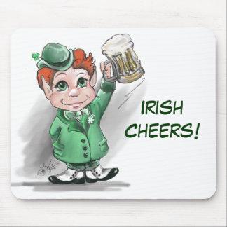 Irish Cheers! Mousepad