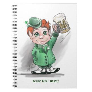 Irish Cheers! Notebook