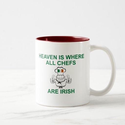 Irish Chefs Two-Tone Coffee Mug