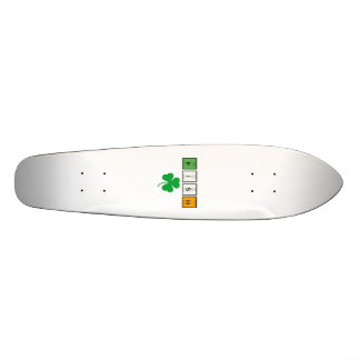 Irish chemcial elements Zc71n Skateboard Deck