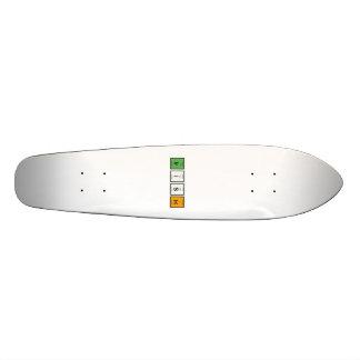 Irish chemcial elements Zy4ra Skateboard Deck