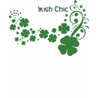 Irish Chic St. Paddy's Day Shirts shirt