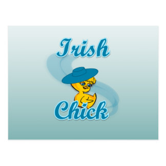 Irish Chick #3 Postcard