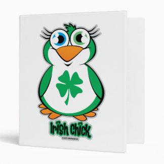 Irish Chick Binder