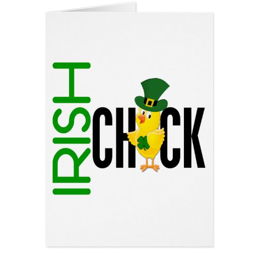 Irish Chick Greeting Cards