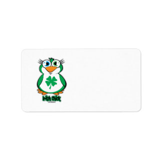Irish Chick Label