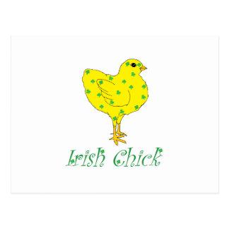 Irish Chick Postcards