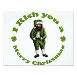 Irish Christmas 4.25x5.5 Paper Invitation Card